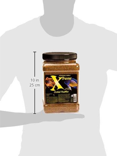 Xtreme Aquatic Foods 2136-F Cichlid Peewee Fish Food