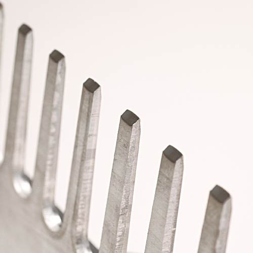 Leonard Lightweight Aluminum Grading Rake, Beveled Tines (24 Inch Head Width)