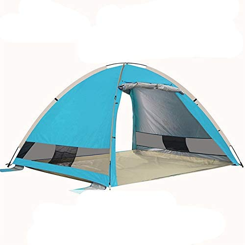 Pop Up Beach Tent Portable Sun Shade UV Protection Outdoor Camping Fishing RED