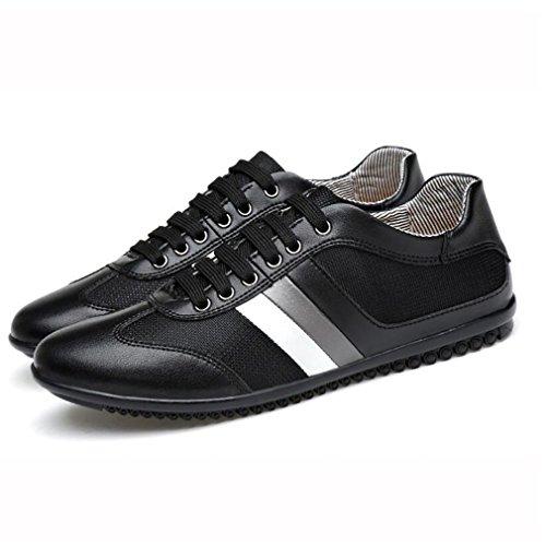 noir Cuir respirant Maille black Sport Blanc De Printemps Confort Chaussures baskets 39 Chaussures Hommes Sport En Automne qOxF4ww