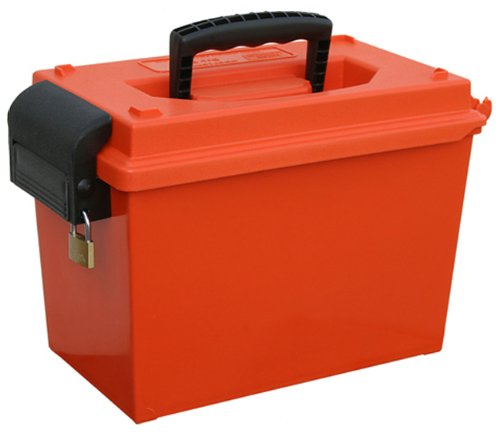 MTM Sportsmen's Dry Box with O-Ring Seal, Orange