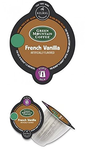 Keurig 2.0 Green Mountain Coffee French Vanilla Light Roast Coffee K-Carafe 28 Count ()