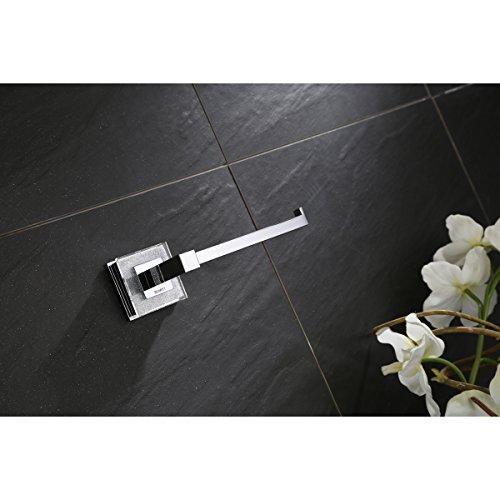 Ruvati RVA5009 Valencia Toilet Paper Holder Luxury Bathroom Accessory, Crystal and Chrome by Ruvati (Image #4)