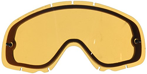 Oakley Crowbar Snow Cross Persimmon Dual Vented Replacement Lens (One - Test Oakley
