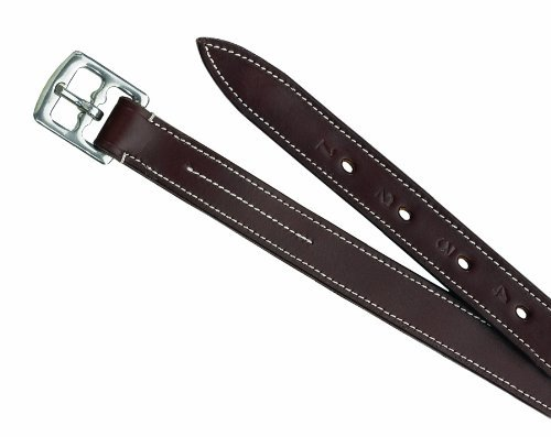 Nylon Lined Stirrup Leathers - Camelot Childs Nylon Lined Stirrup Leathers-Brown