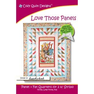 Pattern~Love Those Panels by Cozy Quilt Designs~Three Sizes ()