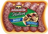 JOHNSONVILLE SAUSAGE SWEET ITALIAN LINKS 19 OZ PACK OF 2