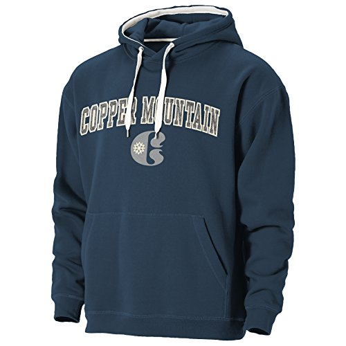 Ouray Sportswear Men's Copper Mountain Resort Peerless Redux Hoodie, Medium, - Mountain Sweatshirt Copper