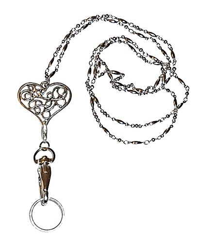 Hidden Hollow Beads Lanyard (Trendy Lanyard Heart)