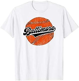 Baltimore Baseball | Vintage Oriole Retro Baseball Gift T-shirt | Size S - 5XL