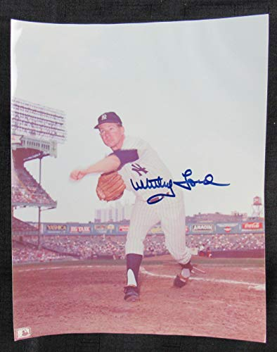 Whitey Ford Signed Auto Autograph 8x10 Photo ()