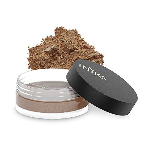 INIKA Loose Mineral Bronzer All Natural Make-Up Highlighter, Instant Warmth, Sun-kissed Glow, Water Resistant, 3.5 g (0.12 oz) (Sunloving)