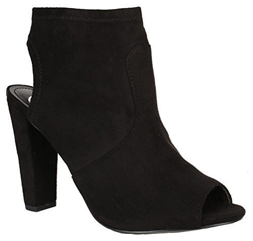 High Heel Slouch Ankle Boot - 4