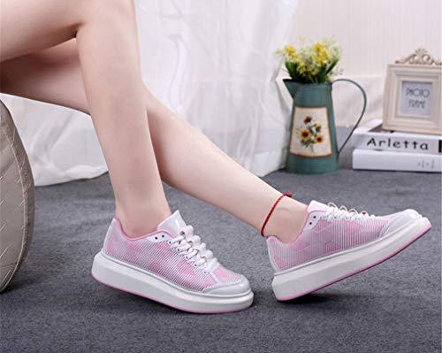 PU Novità da Ladies up Scarpe sportivo mesh Autunno Sneakers confortevole casual in Lace ginnastica scarpe da UN scarpe donna Leggero in Estate Uq0n6wa0Ex