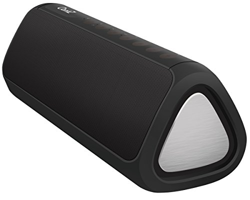 OontZ Angle 3XL Ultra : Portable Bluetooth Speaker, Enhanced Bass 24 Watts Power Louder Volume Superior Sound, 100ft Wireless Range, Play Two Together Music in Awesome Dual Stereo IPX5 SplashPro