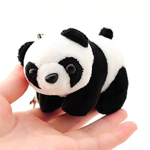 Osye Chinese Panda Key Chain Handbag Pendant Cellphone Pendant Stuffed Plush Toys]()