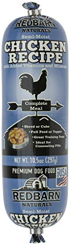 Red Dog Coats Barn (Red Barn Naturals Rolled Dog Food Chicken Recipe 9.8lb (15 x 10.5oz))