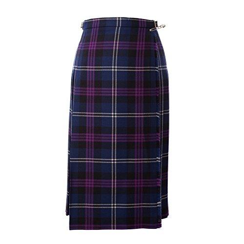 John Morrison Kiltmakers Women's Classic Scottish Tartan Wool Full Length Kilt Heritage Of Scotland (12) - Heritage Of Scotland Kilt
