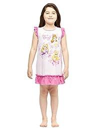 Disney Princess Girls Short Sleeve Nightgown, Disney Princess Pajama Size 3T