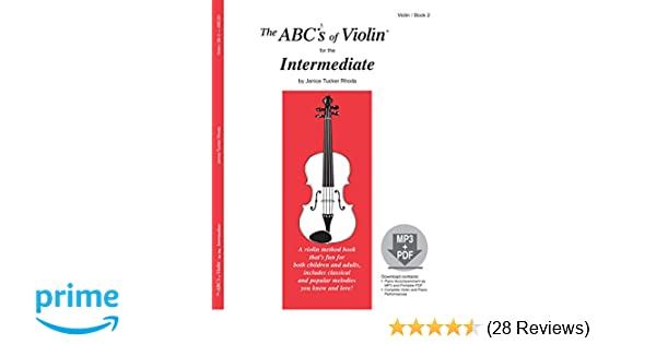 Amazon The Abcs Of Violin For The Intermediate Book 2 Book