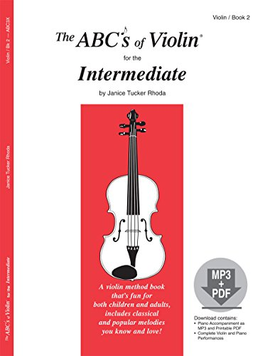 Price comparison product image The ABCs of Violin for the Intermediate, Book 2 (Book & MP3/PDF)