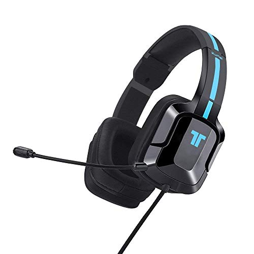 - TRITTON Kunai Plus [Upgraded with Over-Ear Ear Cups] Gaming Headset, Xbox one Headset with mic, for for Playstation 4, PS Vita, and Mobile Devices(Black-Blue)