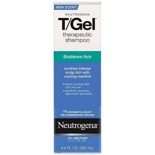 Neutrogena T Gel Therapeutic Shampoo - Stubborn Itch, 4.4 Fluid Ounce - 24 per case. by Neutrogena