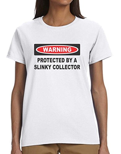 Slinky Collector (Protected by A Slinky Collector Ladies T-Shirt)