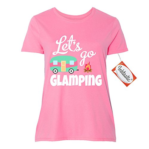 Inktastic Glamping Camper Vector T Shirt product image