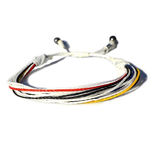 real-madrid-bracelet-in-team-colors-white-black-red-blue-and-yellow-mens-and-womens-nylon-cord-sport