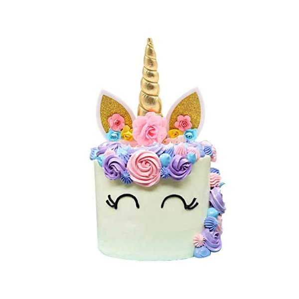 Unicorn Cake Topper 3