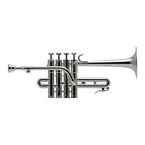 Schilke Model P5-4 Bb/A Piccolo Trumpet, Silver-Plate by Schilke