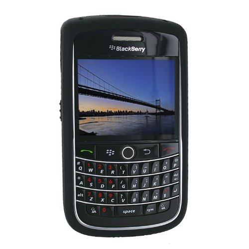 BlackBerry 9630 Skin Cover Case (Black) ()