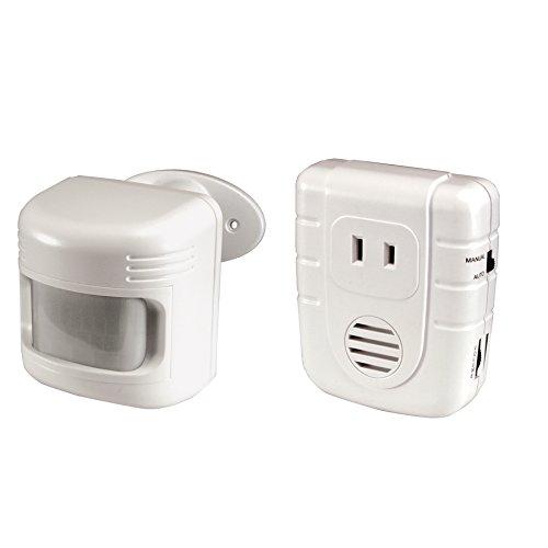Utilitechホワイトscrew-inモーションセンサーと光センサー B077YSNT8Z