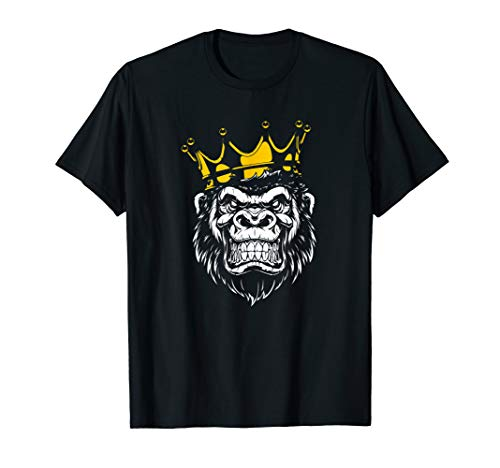 Angry Gorilla King Graphic T-shirt