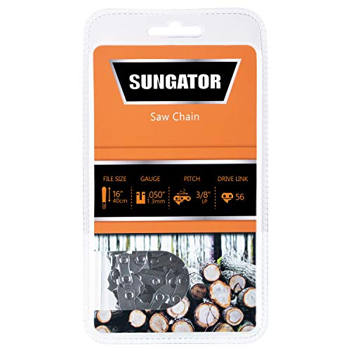 SUNGATOR 16-Inch Chainsaw Chain SG-S56, 3/8