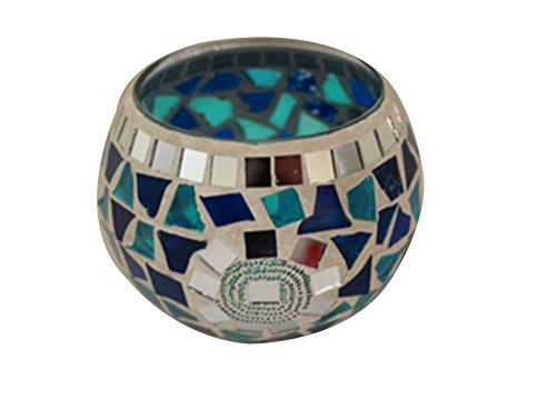 Mosaic Votive Decoration Centerpiece Keyring product image