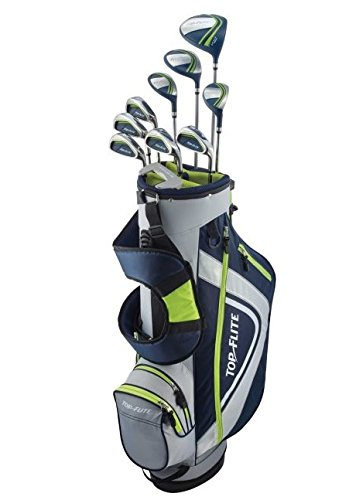 Top Flite XL 13-Piece Complete Golf Set Mens Regular Flex - Volt - New 2018