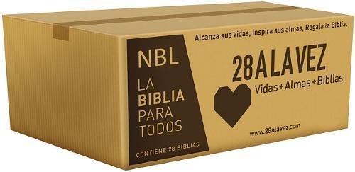 Nueva Biblia Latinoamericana - Edición económica / Paquete de 28 (Spanish Edition)]()