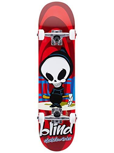 Blind Retro Reaper FP Skateboard Complete,Red,29.8