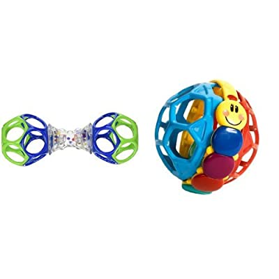 Oball Shaker and Bendy Ball : Baby