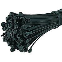 Nicebuty 100pcs en nylon 2,5* 200mm autobloquant câble