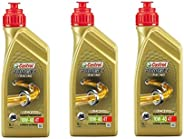 Kit 3 Castrol Power 1 Racing 10w40 4T Sintético