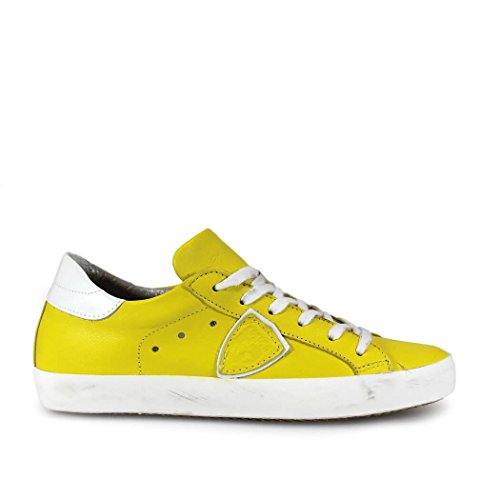 ZAPATILLA PARIS CLASSIC AMARILLO LIMON PHILIPPE MODEL