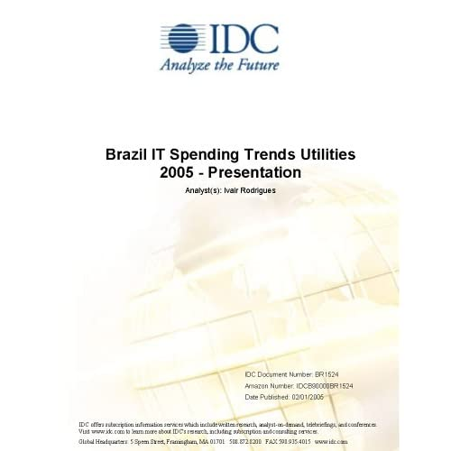 Brazil IT Spending Trends Midmarket 2005 - Presentation IDC