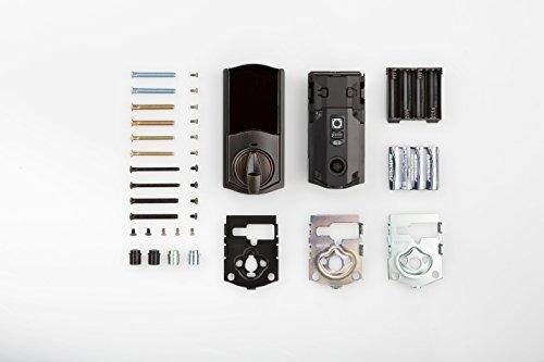 Kwikset 99140-103 Kwikset Z-Wave Deadbolt Smart Lock Conversion Works with Alexa via SmartThings, or in
