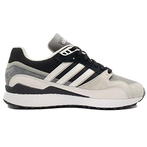 (adidas Men's Ultra Tech Core Black/Crystal White B37918 (Size: 9.5))