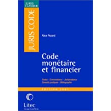 Code Monetaire Et Financier 2001