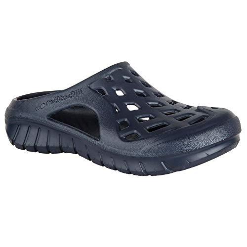 44168ea3139ec Nabaiji Men s Swimming Pool Clogs - Dark Blue (EU 41)  Buy Online at ...