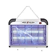 STOP IMPOSING YOUR FAMILIES IN TOXIC PEST CONTROL SPRAYERS! LiBa BUG ZAPPER HELPS YOU GET RID OF ANNOYING FLYING PEST IN MORE NATURAL WAY! Health Helper and Money Saver with long lifespan! How Does it Work? This indoor pest control device is ...